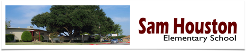 sam houston elementary image banner