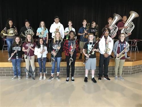 17 EJHS Band Students Qualified for All-Region Band