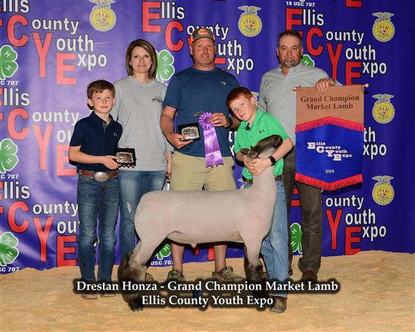 Drestan Honza - Grand Champion Market Lamb