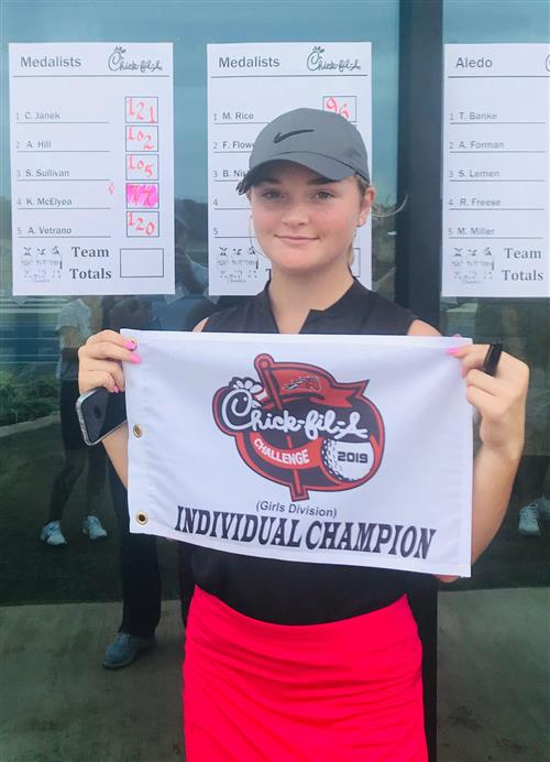 Kenley McElyea Wins Chick-fil-A Challenge at Southern Oaks Golf Club