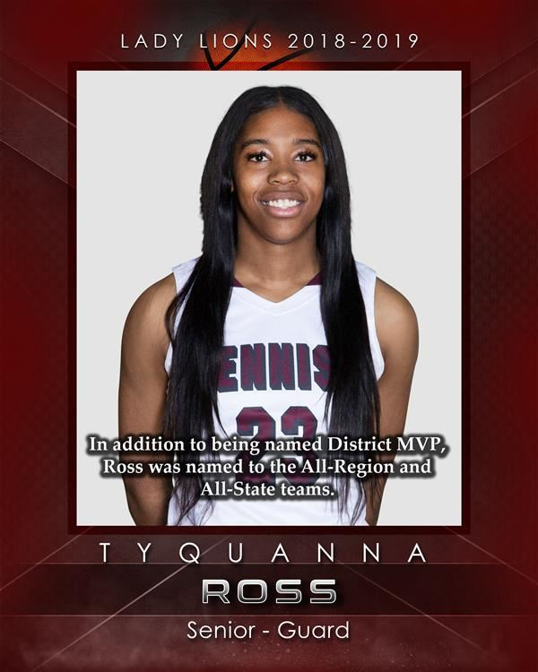 Tyquanna Ross makes All-State Team