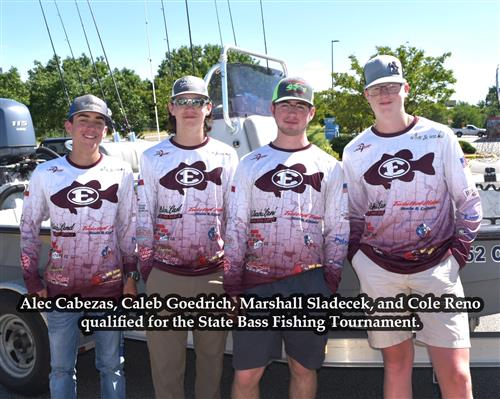 EHS Fishing Teams Reach State Tourney