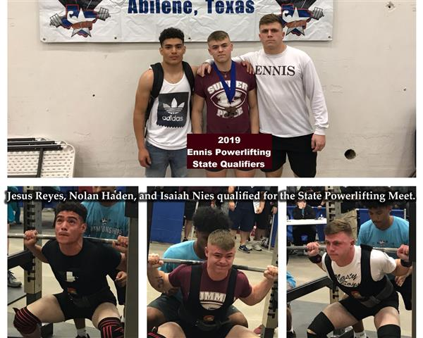 Powerlifters make State Meet